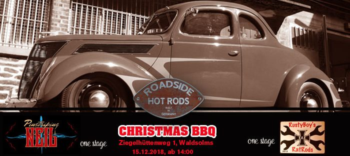Roadside Hot Rods - Chrismas BBQ 2018