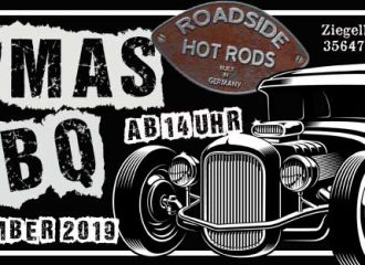 Roadside Hot Rods X MAS BBQ 2019